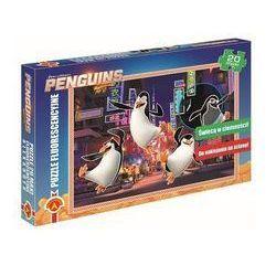 Puzzle fluorescencyjne maxi Pingwiny z Madagaskaru 20