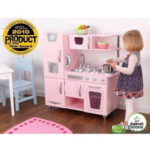 Kuchnia drewniana  Różowy vintage , KidKraft  kuchnie dla   -> Kuchnie Dla Dzieci Smyk