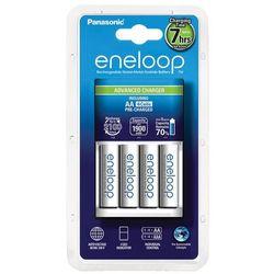 Panasonic Eneloop BQ-CC17 + 4 x R6/AA Eneloop 2000mAh BK-3MCCE