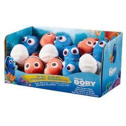 BANDAI DISPLAY 12x mały plusz z dżwiękie Dory 5szt, Nemo 4szt, Bailey 3szt