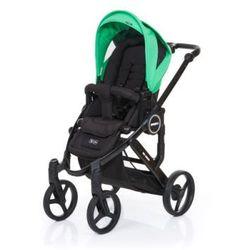 ABC DESIGN Wózek dziecięcy Mamba plus black-grass, stelaż black/ siedzisko black