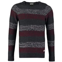 Jack & Jones JJVCBARRYVILLE Sweter dark grey melange