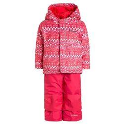Columbia BUGA SET Kombinezon zimowy punch pink
