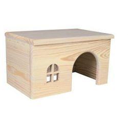 TRIXIE Domek drewniany z drzewa sosnowego dla chomika- RÓB ZAKUPY I ZBIERAJ PUNKTY PAYBACK - DARMOWA WYSYŁKA OD 99 ZŁ
