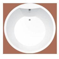 Wanna okrągła Ruben Solar Ø 175 cm, biała, system hydromasażu Neos Solar175 + Neos