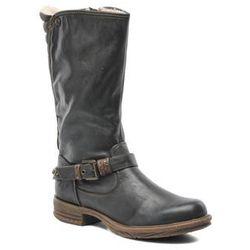 Kozaki Mustang shoes Zaya Damskie Szary Dostawa 2 do 3 dni