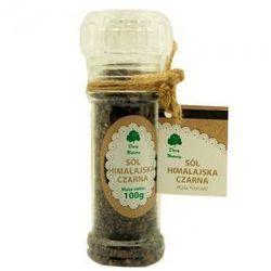 Sól himalajska czarna (Kala Namak)100g (w młynku) - Dary Natury