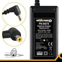 Whitenergy Zasilacz 18.5V 6.5A 120W wtyczka 5.5 x 2.5 mm HP Compaq