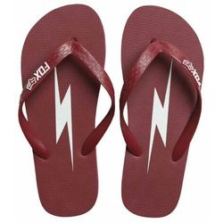 the latest 6ceba 8a13f japonki FOX - Throttle Maniac Flip Flop Dark Red (208) rozmiar L
