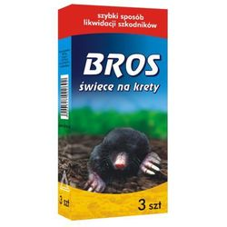 BROS - świece na krety 3szt (BROS342)