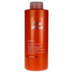 Wella Enrich Volumising - szampon na objętość do włosów cienkich 1000ml