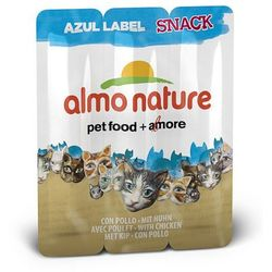 ALMO NATURE Azul Label Snack Kurczak 3x5g