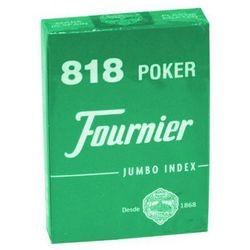 Karty do gry Fournier No. 818 Poker Jumbo Index