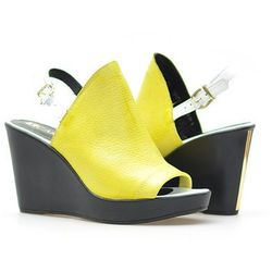 Sandały Carini B2492/M Żółte