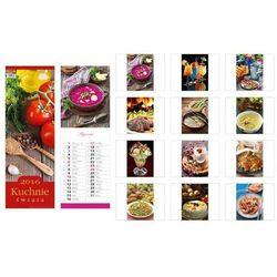 Kalendarz 2016 13 planszowy paskowy Kuchnie świata
