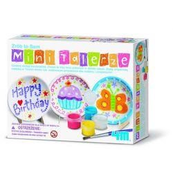 4M, Mini talerze do samodzielnego pomalowania, zabawka kreatywna