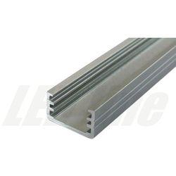 PROFIL aluminiowy nawierzchniowy wąski SLIM do TAŚMY LED 2 metry