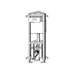 Element narożny do WC wiszącego Viega Eco Plus 1130 mm 606 725