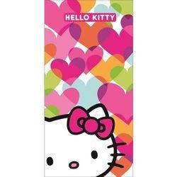 CTI Ręcznik kapielowy Hello Kitty Mimi Love, 75 x 150 cm