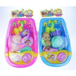 Wanienka do kąpieli dla lalek, zestaw z lalką Darmowa dostawa do sklepów SMYK
