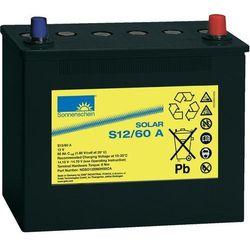 Akumulator ołowiowy 60 Ah, sucha bateria słoneczna S12/60 G