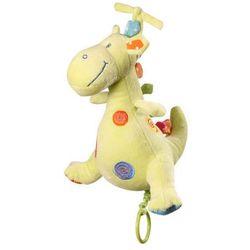 Babyono - Zabawka welurowa z pozytywką dinozaur