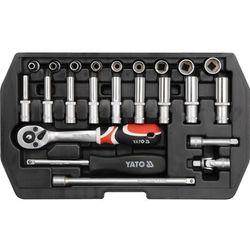 Zestaw narzędziowy YATO YT-1445 XS (23 elementy)