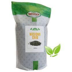 Chia Nasiona Szałwii Hiszpańskiej 1 kg - Salvia hispanica - Ziarna Szałwii Hiszpańskiej Targroch