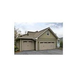 Foto naklejka samoprzylepna 100 x 100 cm - Bramy garażowe na dom