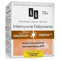 AA Technologia Wieku 70+ Intensywne Odżywianie (W) krem intensywnie wzmacniający 24h 50ml