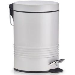 Szary Kosz Na śmieci Do łazienki Metalowy Kosz Kosz Na śmieci łazienkowy Pojemniki Na śmieci Kubły Na śmieci Kosz Biurowy Zeller