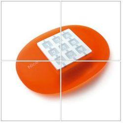 Obudowa do pilota NICE owalna pomarańczowa - idealna na biurko (WEO)