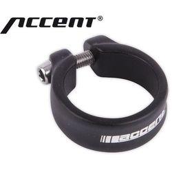 610-02-95_ACC Obejma ze śrubą imbusową ACCENT SLIM 31,8 mm czarna piaskowana
