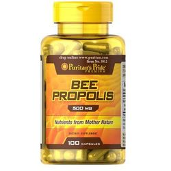 Propolis 500mg Bee propolis 100 kapsułek Puritan's Pride