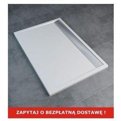 SanSwiss   Ronal Brodzik konglomeratowy prostokątny ILA 90x120 cm WIA 901205004