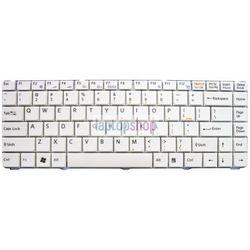 Klawiatura do laptopa SONY Vaio VGN-NS VGN-NR PCG–7151M PCG-7161M (BIAŁA)