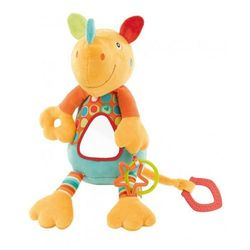 Zabawka FEHN River Gang Nosorożec wibrująca z lusterkiem