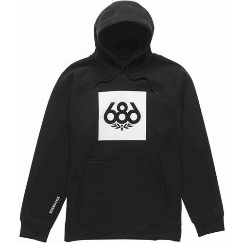 bluza 686 - Borderless Knockout P/O Hoody Black (BLK)