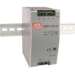 Zasilacz na szynę DIN Mean Well DRH-120-24, 5 A, 120 W, 1 x