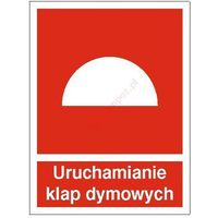 Znak Uruchamianie klap dymowych 150x200 FB