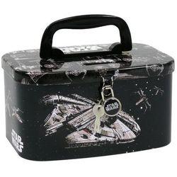 Derform, Star Wars, skarbonka-kuferek z kłódką Darmowa dostawa do sklepów SMYK