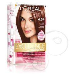 Excellence Creme farba do włosów 4.54 Brąz mahoniowo miedziany
