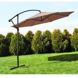 Malatec Parasol ogrodowy 3,5m 8-żebrowy - brązowy