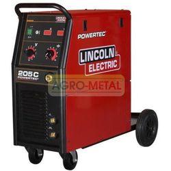 MEGA PROMO!!! Półautomat spawalniczy LINCOLN POWERTEC 205C 400V3ph +DOSTAWA GRATIS +GWARANCJA PRODUCENTA