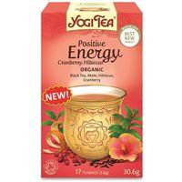 Herbata Pozytywne Energia Żurawina i Hibiskus BIO (Yogi Tea) 17 saszetek po 1,8g