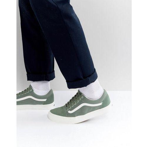 Vans Old Skool Suede Trainers In Green VA38G1OS5 Green