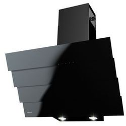 Okap Kuchenny MAAN Bravo Quadro Black GPE600 LED! Mocna turbina! NOWOŚĆ! 60 Czarny + czarne szkło
