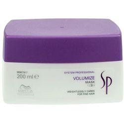 Wella SP Volumize - maska nadająca objętość włosom cienkim 200ml