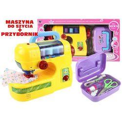 Lean Toys, Maszyna do szycia z przybornikiem Darmowa dostawa do sklepów SMYK