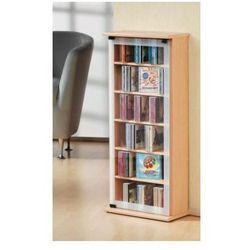 VCM szafka medialna CD/DVD Classic - regał, w 3 wariantach kolorystycznych: buk
